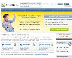 vEuro.de - Geld verdienen mit Aktionen